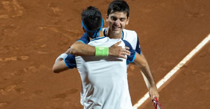 Pensando en Copa Davis: Tabilo y Barrios brillan en dobles y avanzan a los cuartos del Santiago Open