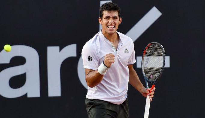 Se fue la lluvia y volvieron los triunfos: Garin derrotó a Coric y está en la final del ATP de Río