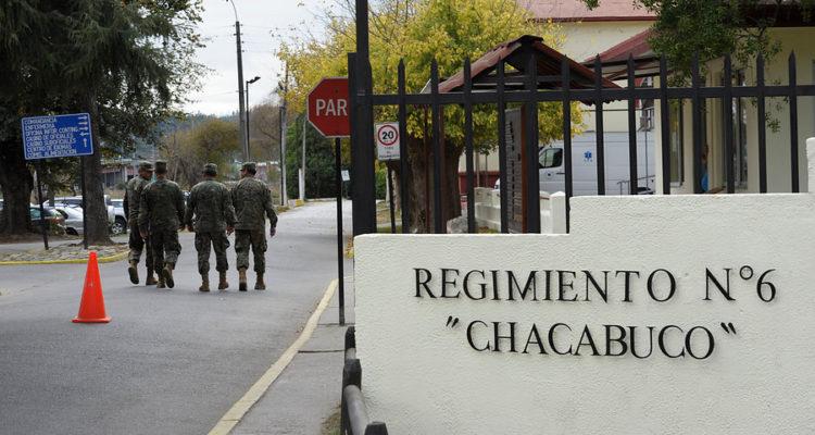 Regimiento Chacabuco  de Concepción | Diego Ibacache | Agencia UNO