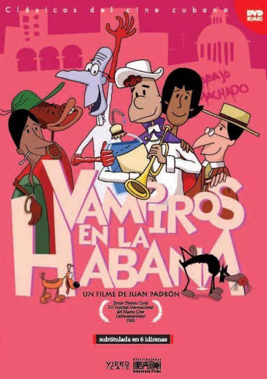 """Afiche de la película """"Vampiros en La Habana"""""""