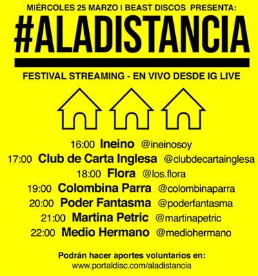 Festival #Aladistancia, Beast Discos (c)