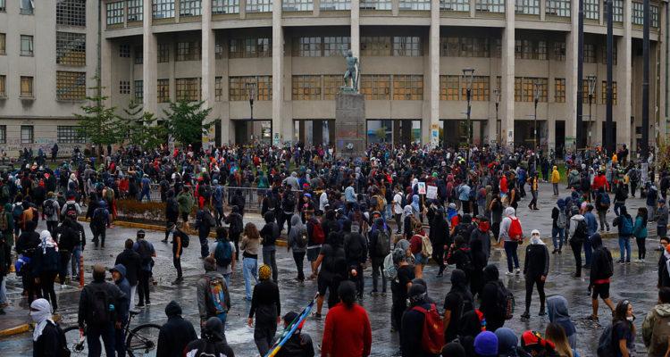 Disturbios en Concepción | Sebastián Brogca | Agencia UNO