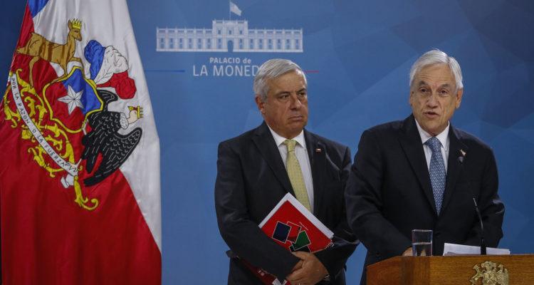 """Governo Cileno impone """"stato di catastrofe"""" per 90 giorni causa coronavirus"""