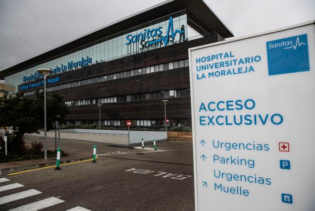 Hosp. Sanitas La Moraleja, en Madrid / El País