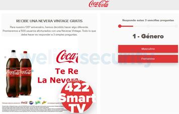 Sitio al cual redirige la URL en el mensaje