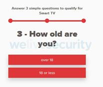 Ejemplo de las preguntas que realiza la encuesta