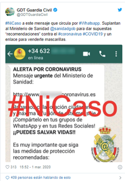 Ministerio Sanidad España