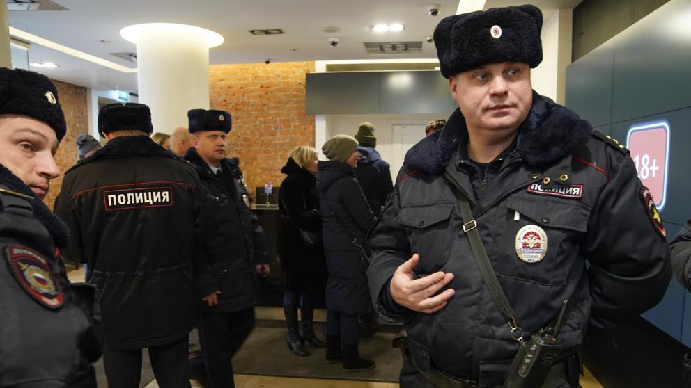 Policía de Moscú | AFP
