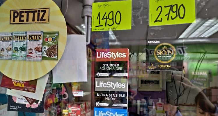 Preservativos en Distribuidora La Mundial, EM (c)