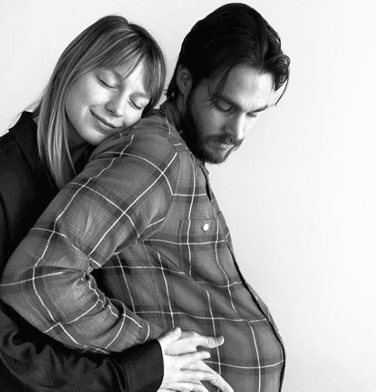 Melissa Benoist y Chris Wood | Instagram