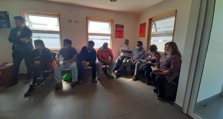 Dirigentes de Chiloé   Cedidas a RBB