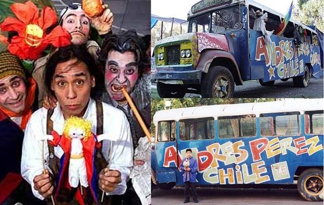 Andrés Pérez, Gran Circo Teatro (c)
