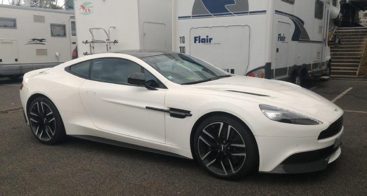 Aston Martin Vanquish Coupé: Guillaume Vachey
