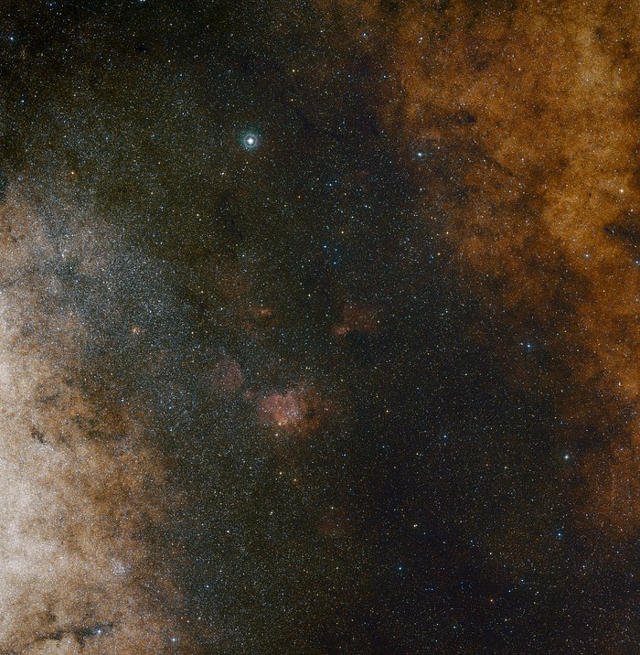 Visión de amplio campo del Centro de la Vía Láctea | ESO