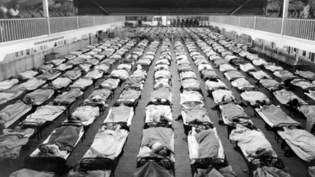 Hospital donde se atendió la Gripe Española | Wikimedia Commons