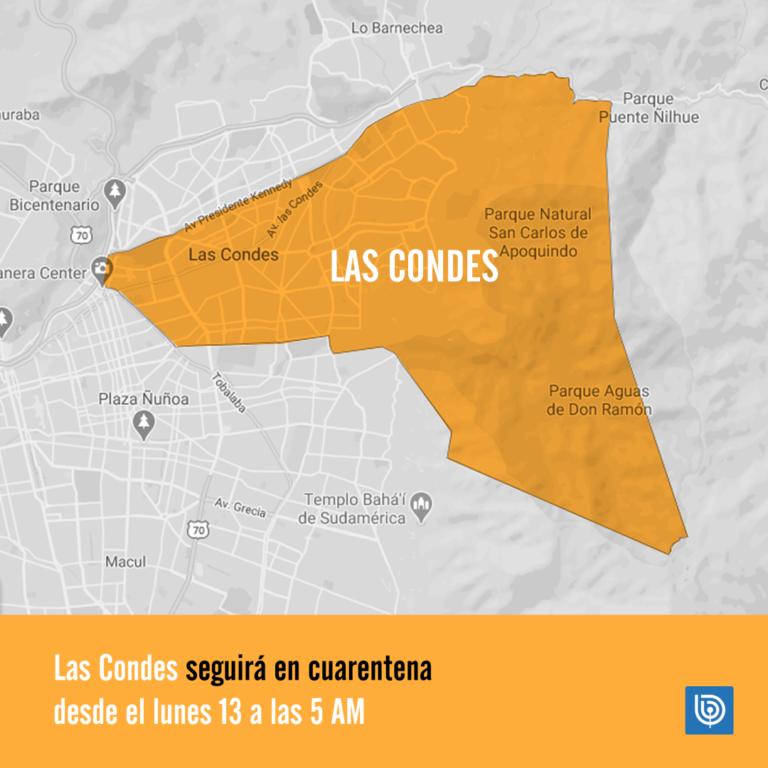 Cuarentena en Las Condes