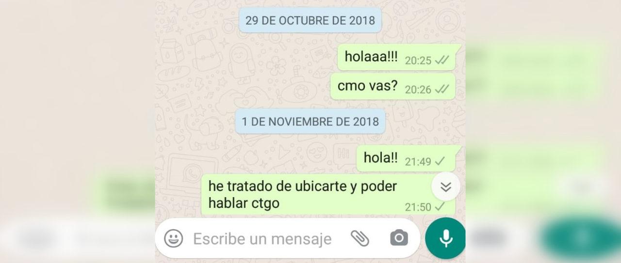 Últimos mensajes enviados por Javier a Héctor
