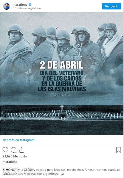 Diego  Maradona | Instagram