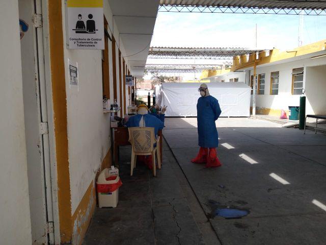 Situación en el Hospital de Ferreñafe