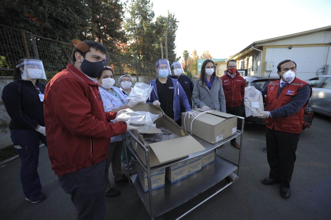 Donación de pescadores industriales del Bío Bío
