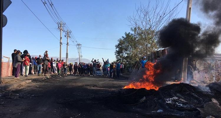 Manifestaciones en Cerro Navia