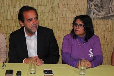 Mulet y Torrejón en conferencia de prensa | Atacama Noticias