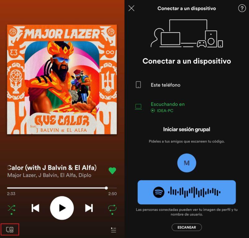 Captura Spotify