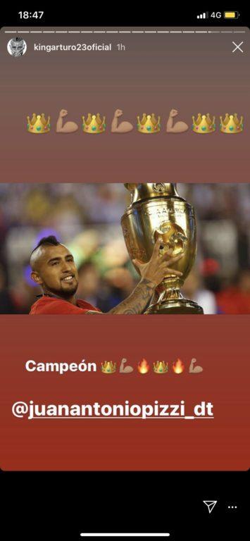 Arturo Vidal / Instagram