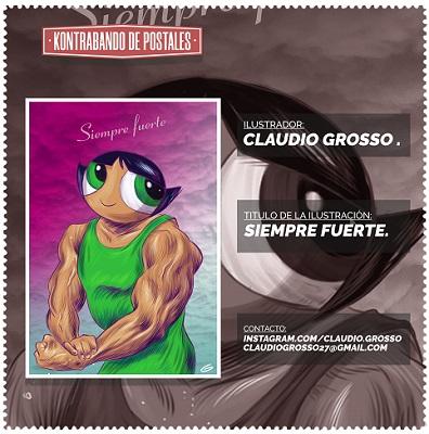Claudio Grosso, Kontrabando de Postales (c)
