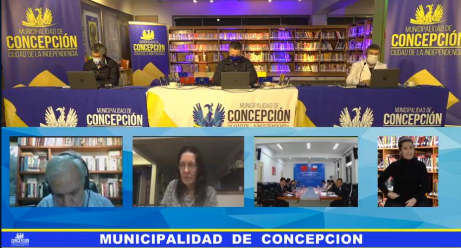 Captura Municipalidad de Concepción