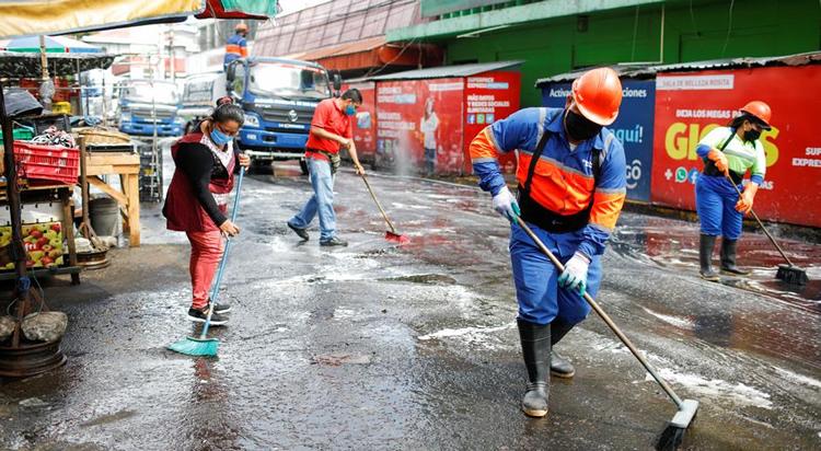 Limpieza de calles en El Salvador | DW