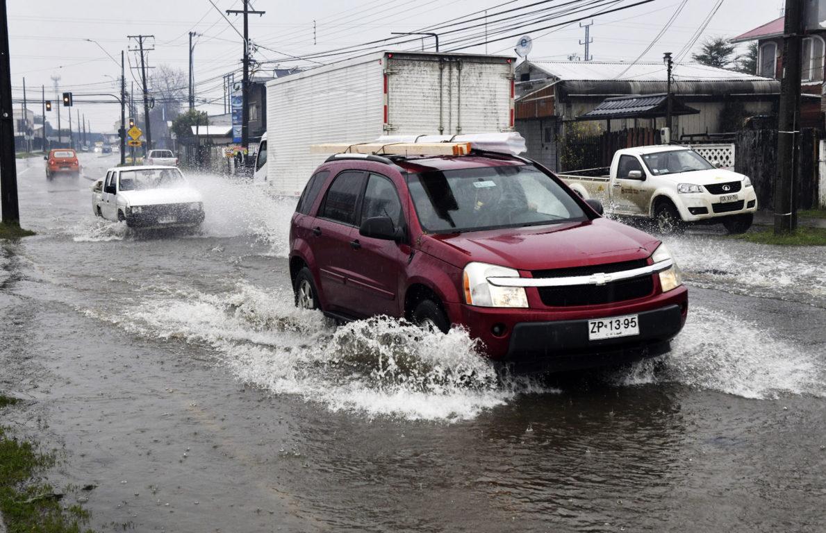 Lluvias en Valdivia | Agencia UNO