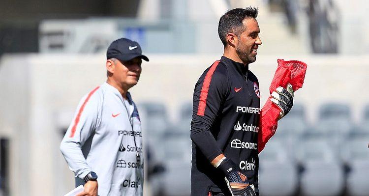 Reinaldo Rueda pone sus fichas en Claudio Bravo: