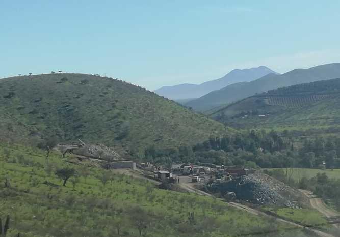 Vista panorámica de la mina La Poderosa | Diario El Día