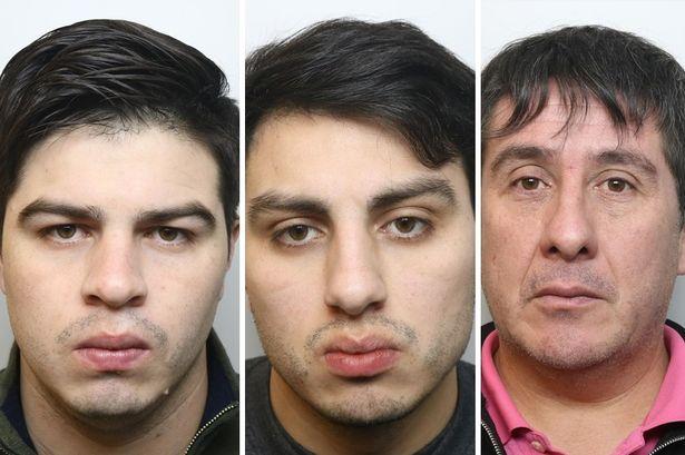 Nicholas Oviedo, Alexis Oviedo y Joel Ureta | Policía de Londres