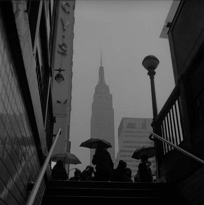 Lluvia, Nueva York, Diego Pequeño (c)