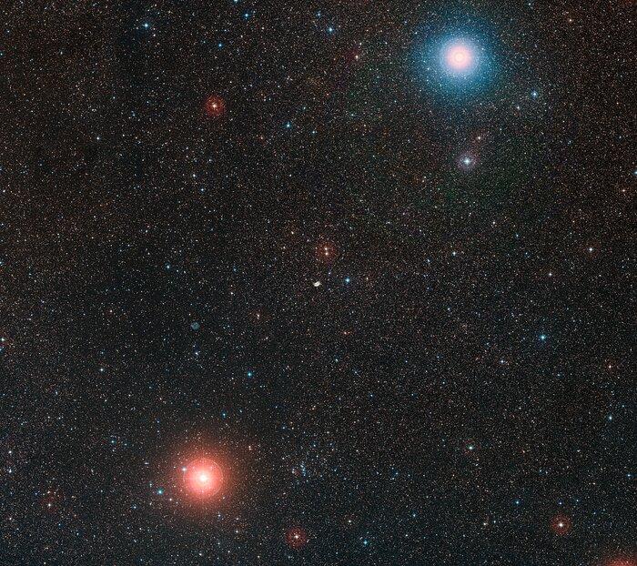 El cielo alrededor de NGC 2899 | ESO
