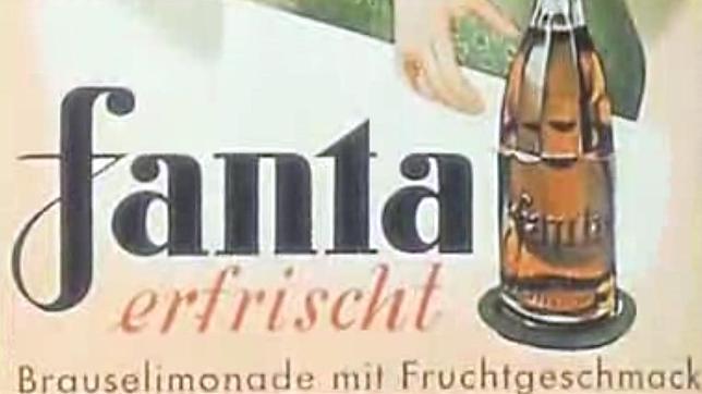 Primer logo de Fanta