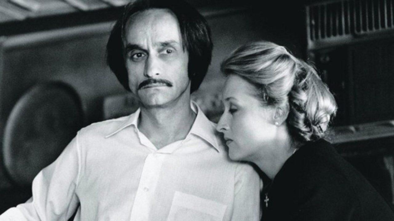 John Cazale y Meryl Streep