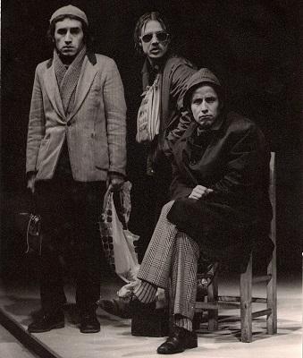 Los payasos de la esperanza: Rodolfo Bravo, Mauricio Pesutic, y José Luis Olivari (c)