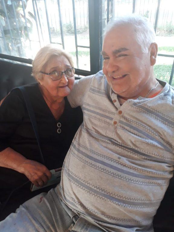 Don Manuel y su esposa. Cedida a BioBioChile