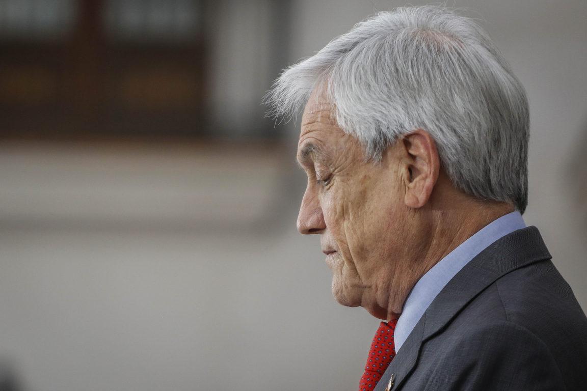 Piñera presents the plan that failed to convince the opposition. Sebastián Beltrán Gaete   Agencia UNO