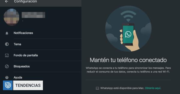 Así es el nuevo modo oscuro de WhatsApp Web: conoce cómo activarlo | Tecnología | BioBioChile