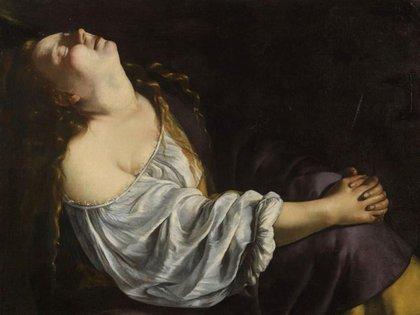 María Magdalena en éxtasis