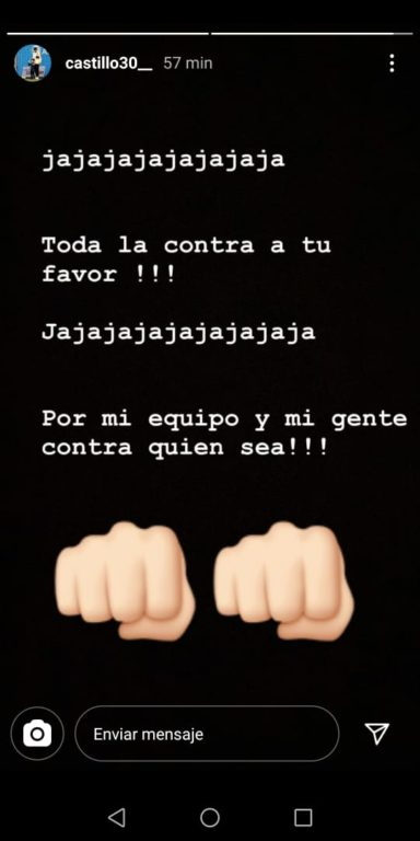 Instagram Nicolás Castillo