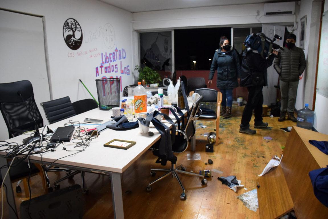 Destrozos en municipio de Victoria | Agencia UNO