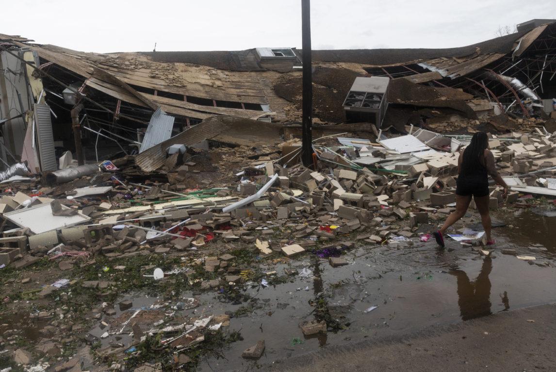 Edificio derribado por el huracán | Agence France-Presse