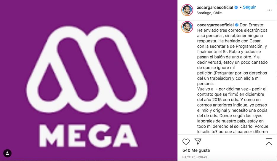 Óscar Garcés | Instagram