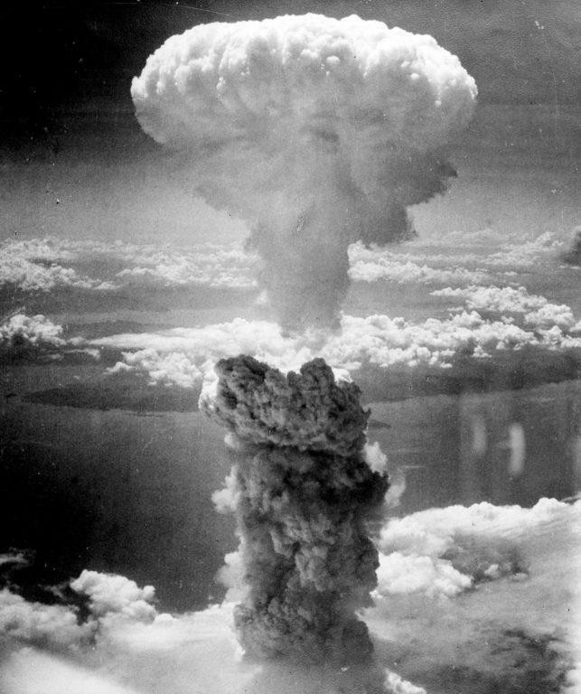 Bomba sobre Nagasaki | WikiImages en Pixabay