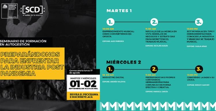 Seminario de autogestión para sector Música, Mincap (c)